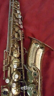 RARE 5-digit Henri Selmer Mark VI Paris Alto Saxophone 1955 Professional M61XXX