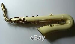 Rare Grafton London plastic acrylic alto saxophone