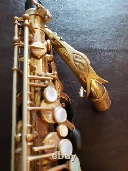 SELMER MARK VI Alto Saxophone #102, xxx (YEAR 1962)
