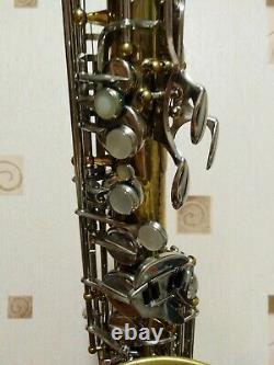 SML Gold Medal I alto saxophone Pichard stencil