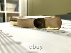 Sakshama G Studio Bronze Alto Saxophone Mouthpiece. 090 (Guardala Inspiration)