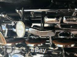 Saxophone. Com Professional Satin Black Nickel Alto Saxophone AS-641SBB with Case