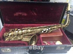 Selmer Alto Saxophone E Flat 1953 Selmer Super Balance Action. Serial No. 48929
