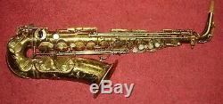 Selmer Balanced Action Alto Saxophone Original Lacquer