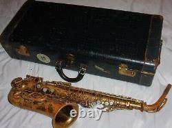 Selmer Balanced Action BA Alto Sax/Saxophone, 1939, Worn Laquer, Plays Great