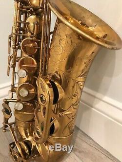Selmer MK VI 1967'Sanborn' 148xxx Alto Saxophone Medium Bow MK VI