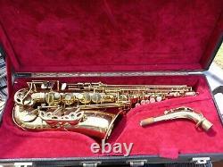 Selmer Mark 7 alto saxophone-