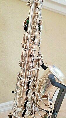 Selmer Mark MK 7 VII Silver Plated Alto saxophone