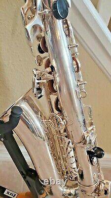 Selmer Mark VI 6 Alto Saxophone Silver Plated recently overhauled