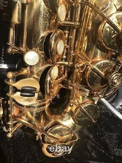 Selmer Mark VI Alto Sax 1962 SN 101xxx. Sweet Vintage Horn needs minor tune-up