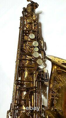 Selmer Mark VI Alto Sax RARE low-A model. Original Lacquer. Monster Player