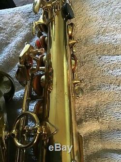 Selmer Mark VI Alto Saxophone, #168xxx