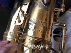 Selmer Mark VI Alto Saxophone (1973) SN213692 Original Lacquer Ready to Play