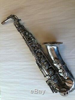 Selmer Mark VI Alto Saxophone 5 digit Silver Plate