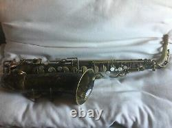 Selmer New Large Bore Alto Saxophone (1929) early Super Sax (video included)
