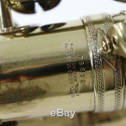 Selmer Paris Balanced Action Professional Alto Saxophone SN 32594 EXCELLENT