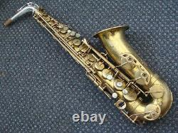 Selmer Paris Mark VI 1970 Alto saxophone in playing condition with silver neck
