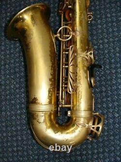Selmer Paris Mark VI Alto saxophone in playing condition