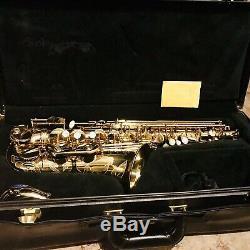 Selmer Paris Super Action 80 Serie II Alto Saxophone, Mint Extraordinary Player