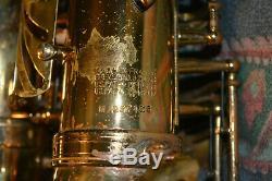 Selmer-Professional-Mark VII-Gold Lacquer-Alto-Saxophone-1976-Case