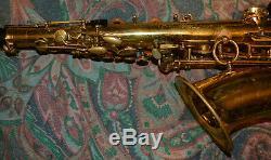 Selmer-Professional-Mark VI-Gold Lacquer-Alto-Saxophone-1969-Case