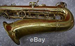 Selmer-Professional-Mark VI-Gold Lacquer-Alto-Saxophone-High F# Key-Case-1963