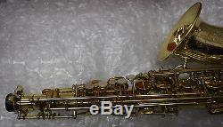 Selmer-Professional-SBA-Super Balanced Action-Gold Lacquer-Alto-Saxophone-1949