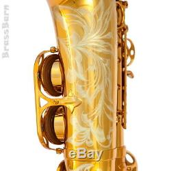 Selmer Reference 54 Alto Saxophone Model 72 Dark Gold Finish