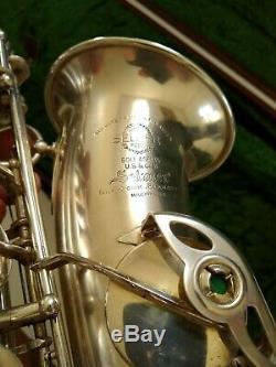 Selmer SBA alto saxophone from 1949