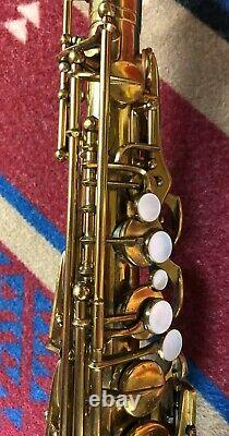 Selmer SSS Super Alto Sax 1933. 17xxx Rare, Original Lacquer Recent Pro Overhaul