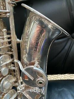 Selmer Super Action Series II Alto Saxophone, Silver Plated, Price Drop