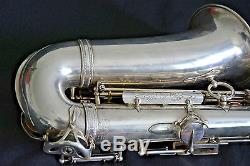 Selmer Super Balanced Action alto saxophone 1953