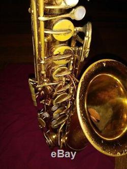 The Martin Alto Saxophone Original Lacquer, 1946