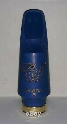 Theo Wanne Durga 3 Blue A. R. T. Alto Saxophone Mouthpiece Size 8