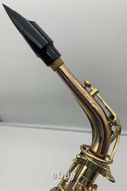 Trevor James Custom Signature Professional Alto Saxophone Rare Bronze with Case