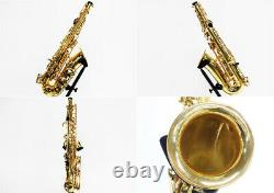 USED Alto Saxophone YAMAHA / YAS-62 Gold Lacquer Free Shipping
