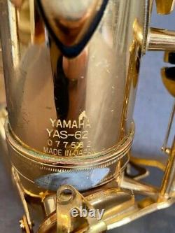 Used Generation 1 Yamaha YAS-62- Plays great
