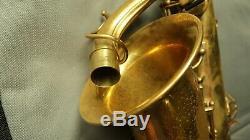 Vintage 1930'S Selmer balanced action alto saxophone