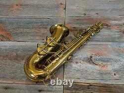 Vintage 1941 Conn 6M Lady Face Naked Lady Alto Saxophone Original Lacquer