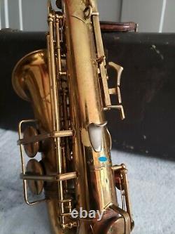 Vintage 1942 Buescher Big B Alto Saxophone ORIGINAL CONDITION! - PRICE DROP
