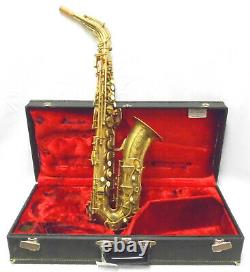 Vintage 1958 Couesnon Alto Saxophone Professionally Repadded! Make an Offer