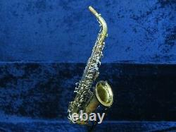 Vintage Buescher 400 Pro Line Alto Saxophone Ser#409484 Needs Adjustment to Play