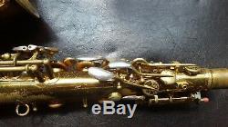 Vintage Conn Connquerer 26M Alto Saxophone 267, xxx 1935