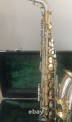 Vintage King Super 20 Silver Sonic Alto Saxophone