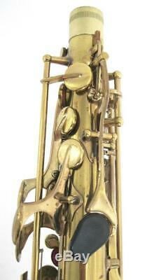 Vintage Rare LeBlanc System Vito Stencil Alto Saxophone Model 35 Semi-Rationale