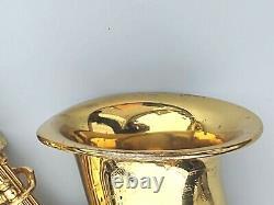 Vintage Yamaha YAS-61 Professional Alto Saxophone with Original Case