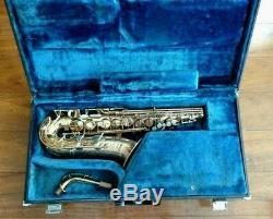 Vintage Yamaha YAS-61 Purple Logo Professional Alto Saxophone with Original Case