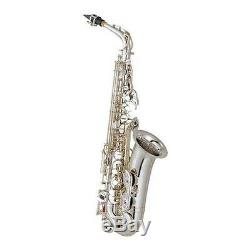 YAMAHA Alto Sax YAS-62 S Silver with case EMS 3-4weeks arrive
