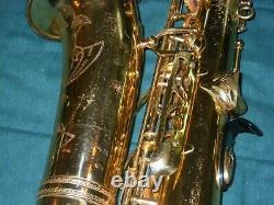 YAMAHA YAS-62 ALTO SAXOPHONE 1st GENERATION PURPLE LOGO NICE PLAYER'S HORN