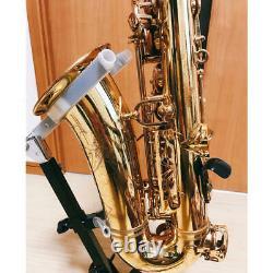 YAMAHA YAS-62 Alto Saxophone Early Model Mesh Purple Logo